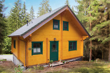 Cabin kit 1350sq/ft 2 Story 3 Bed Wooden Guest House/home (FREE SHIPPING)