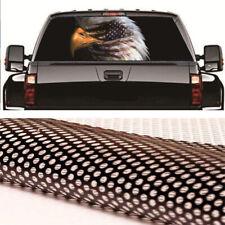 Trcuk Pickup Rear Window Sticker 135x36cm Eagle Face American Flag Universal