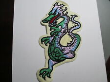 Dragon Patch for a Jacket 8 x 4 inches Vintage Original Patch