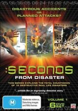 Seconds From Disaster Vol 1 (6-Disc Set) GENUINE RELEASE R4 DVD RARE TIME LIFE