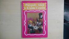 Przygody Alicji w Krainie Czarow H/B (Alice in Wonderland Polish Edition)1992