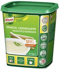 (1000g=18,56€) Knorr Spargelsuppe Spargel Cremesuppe 700g für 10 L Suppe
