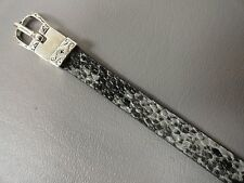 Watch band Snakeskin universal new 7 3/4 adjustable 10mm wide Womens Fashion