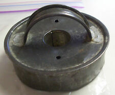 VINTAGE FOLK-ART TIN COOKIE CUTTER SOLID FLAT TOP FOR DONUTS  #406