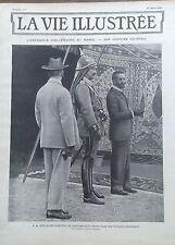 LA VIE ILLUSTREE 1905 N  337 S.M. GUILLAUME II, EMPEREUR D'ALLEMAGNE, AU MAROC