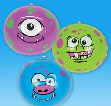 "6 MONSTER BEACH BALLS 7"" Pool Party Beachball Monsters Inc #SR29 Free shipping"