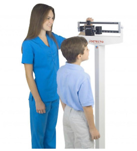 New Physician Scale - 400 lb. Weight Capacity with Height Rod Medical Body Loss