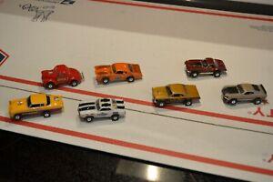 LOT of seven  AURORA t jet style  ROAD RACE REPLICAS