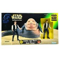 Kenner Star Wars Power Of The Force Jabba The Hutt And Han Solo 1997