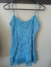 Maurices womens ladies large tank crinkle cami, blue green** WITH TAG