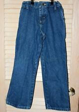 Size 8 Boys Blue Carpenter Jeans by Wrangler Adjustable Waist