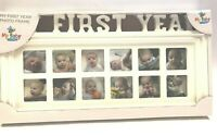 My First Year Photo 12 Month Picture Frame by My Baby You'll Bee New