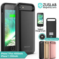 iPhone 8 7 7 Plus Case For Apple Zuslab Power Bank Battery Case Dual Layer Cover