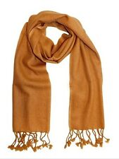 "Ladies Premium Shawl 100% Pure Cashmere Super Soft Warm Shawl 28""x 71""- RRP£199"