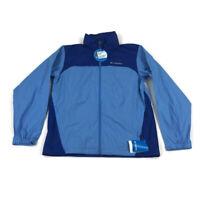 Columbia Mens Glennaker Rain Jacket Packable Hood Blue Variety Sizes