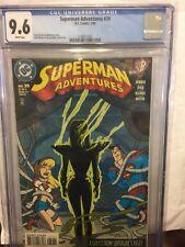 SUPERMAN ADVENTURES 39 CGC 9.6