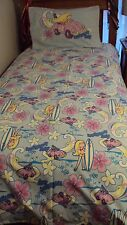 Girl's Single Bed Beach Print Doona Cover