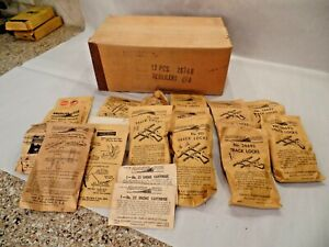 Gilbert American Flyer S Ga. Small Accessories - Some Factory Sealed w/Mast Crtn