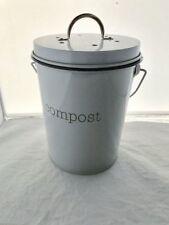 New Retro Kitchen Kitchen Scrap Bin Garbage Compost Bucket Plastic Insert