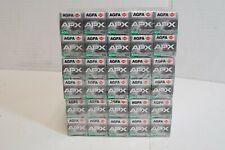 (S) AGFA APX 400 ISO 120 Film 30 Rolls Black & White Prints - Expired