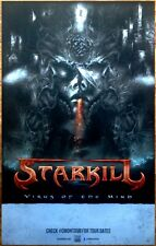 STARKILL Virus Of The Mind Ltd Ed Discontinued RARE Poster +FREE Metal Poster!
