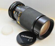 Tamron 80-210mm f/3,8 - 4 CF Tele Makro, genau lesen; translate + read exactly