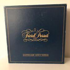 Vintage Trivial Pursuit Original 1984 Master Genius Edition