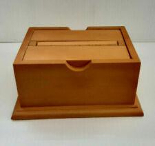 Wood Cigarette Dispenser - Surprise & Delight Magic Wooden Box - Nib