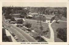 Sacramento, CALIFORNIA - Sutter's Fort -  old cars