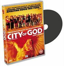 CITY OF GOD DVD  Alexandre Rodrigues Matheus Nachtergaele New Sealed Original UK