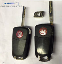 Repair For Vauxhall 3 Button Flip Remote Car Key fob Case Blade Vectra Insignum
