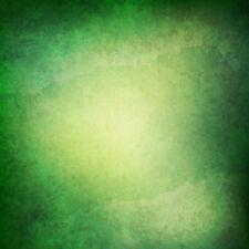 Photography Background Vintage Gradient Green Backdrop 10x10ft Vinyl Studio Prop