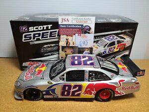 2009 Scott Speed #82 Red Bull Toyota Autograph w/JSA COA 1:24 NASCAR Action MIB
