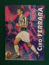 CALCIO 97 1997 CARDS n.26 JUVENTUS CIRO FERRARA , Figurina Card Panini NEW