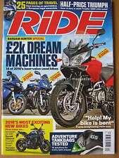 Ride April 2016 Triumph Trophy 1200 MV Agusta Turismo Veloce Kawasaki H2 ZX-10R