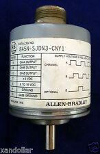 Encoder Allen Bradley 845N-SJHN3-CNY1 Optical Incremental C/T: 1000 SER: C