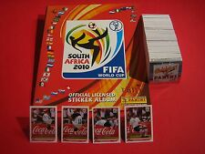 Panini Komplett WM 2010 + Album Leeralbum deutsche Version + Klose  alle Sticker