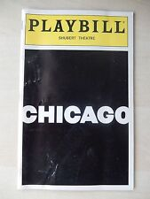 SEPT 1997 PLAYBILL - CHICAGO - MARILU HENNER BEBE NEUWIRTH JAMES NAUGHTON J GREY
