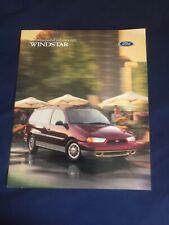 1998 Ford Windstar Color Brochure Catalog  Prospekt