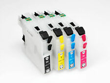 EMPTY Refillable Ink Cartridges for Brother LC233 for MFC-J680DW MFC-J880DW