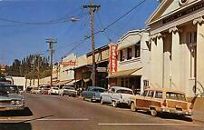 GRASS VALLEY CA Street Scene California Vintage Postcard ca 1960s
