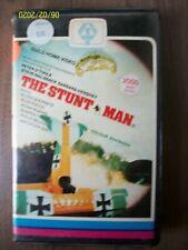 The Stunt Man V2000 Video 2000 VCC Video Compact Cassette ExRen Pre Cert Big Box