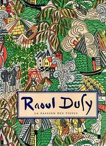 Raoul Duffy 20s vintage fabrics textiles art deco design La Passion Des Tissus