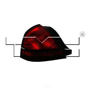 Tail Light Assembly-Regular TYC 11-6090-01 fits 03-11 Mercury Grand Marquis