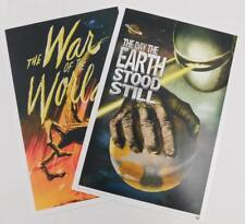 Lootcrate Exclusive Invasion Mini Prints War Worlds Day Earth Stood Still New