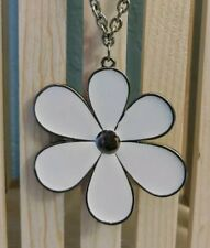 Flower Daisy Charm Chain Necklace Long  NEW