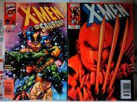 UNCANNY #354 + X-MEN #88 NEWSSTAND VARIANT SET Marvel Comics WOLVERINE VF NM-