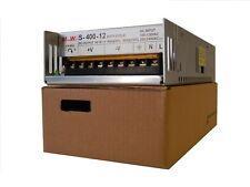 12 Volt DC Regulated LED Driver Power Supply 12V 40 Amp Peak