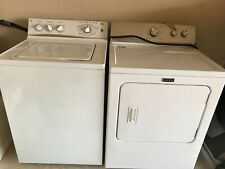 washer and dryer set, Ge, white, great condition