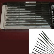 4Ground TL108 Needle Files (Set of 10) Miniature Hobby Tools Modeling Conversion